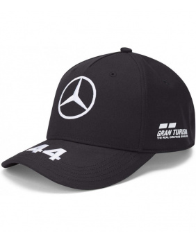 Casquette Hamilton Mercedes AMG noir