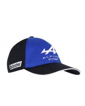 Casquette Alpine Le Coq Sportif bleu et noir