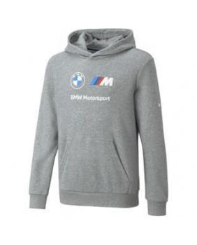 Sweat capuche enfant BMW gris
