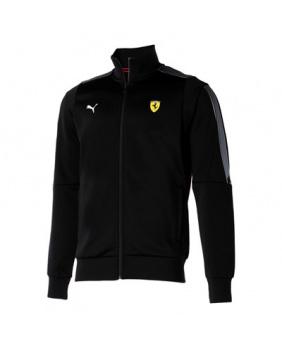 Sweat zippé Ferrari noir