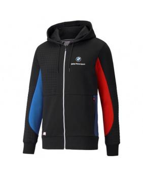 Sweat capuche zippé BMW Motorsport noir