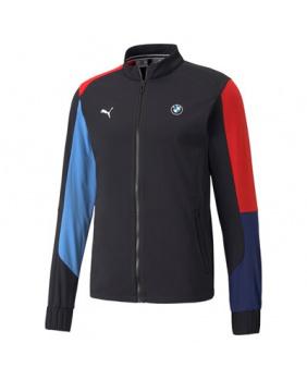 Sweat zippé BMW Motorsport noir bleu et rouge